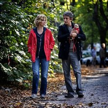 La scoperta dell'alba: i protagonisti Margherita Buy e Sergio Rubini in una scena del film