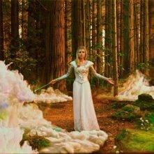 Michelle Williams nei panni dell'eterea Glinda in Il grande e potente Oz