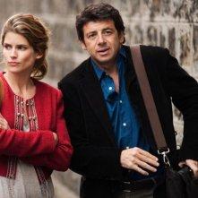 Paris Manhattan: Alice Taglioni e Patrick Bruel in una scena