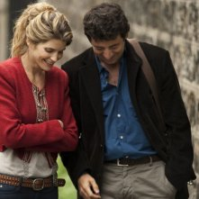 Paris Manhattan: Alice Taglioni e Patrick Bruel in una scena della commedia