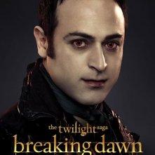 The Twilight Saga: Breaking Dawn - Parte 2: Guri Weinberg nel character poster di Stefan