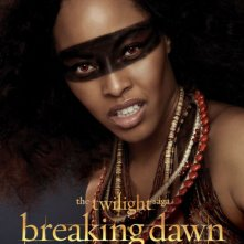 The Twilight Saga: Breaking Dawn - Parte 2: Tracey Heggins  nel character poster di Senna