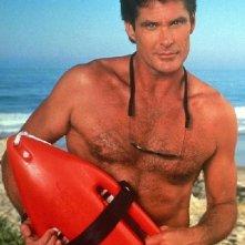 Baywatch: una foto promozionale del bagnino David Hasselhoff