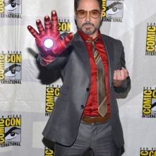 Robert Downey Jr. presenta Iron Man 3 al San Diego Comic Con 2012