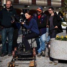 Tutto parla di te: la regista Alina Marazzi sul set del film