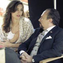 Una donna per la vita: Maurizio Casagrande e Margareth Madè sul set del film