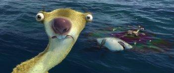 L'era glaciale 4: Continenti alla deriva, Sid in una delle sue nefaste allucinazioni