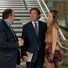 Olivia Wilde con Dennis Quaid in una scena di The Words