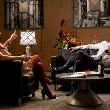 Olivia Wilde insieme a Dennis Quaid in una scena di The Words