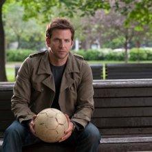 The Words: Bradley Cooper in un momento di riflessione del film