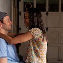 The Words: Bradley Cooper insieme a Zoe Saldana in un momento di intimità del film