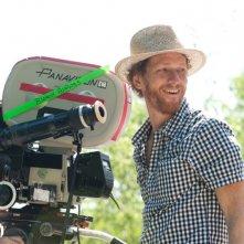 The Words: Brian Klugman, uno dei due registi del film, sorride sul set del film