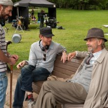 The Words: i registi del film Brian Klugman e Lee Sternthal chiacchierano sul set con Jeremy Irons
