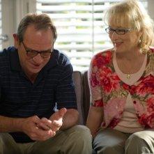 Hope Springs, consigli per gli affetti: Tommy Lee Jones e Mery Streep in una scena del film