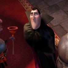 Hotel Transylvania: il conte Dracula in una nuova paurosa immagine del film animato