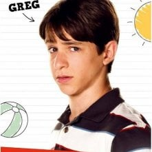Diary of a Wimpy Kid: Dog Days: Character Poster per Greg (Zachary Gordon)