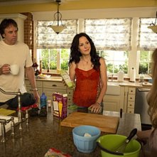 Weeds: Kevin Nealon e Mary-Louise Parker nell'episodio Only Judy Can Judge