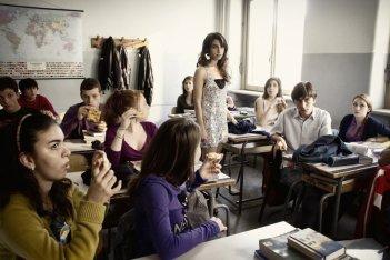 Il rosso e il blu: la giovane Silvia D'Amico in una scena del film
