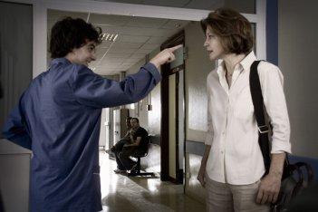 Il rosso e il blu: Margherita Buy e Davide Giordano in una scena del film