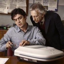 Il rosso e il blu: Roberto Herlitzka e Riccardo Scamarcio in una scena del film