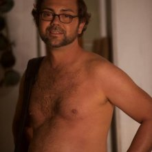 Joe Lo Truglio sul set di Nudi e Felici