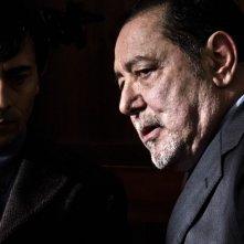 La città ideale: Luigi Lo Cascio, interprete e regista del film, insieme a Luigi Maria Burruano in una scena del film