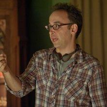 Nudi e felici: il regista David Wain sul set del film