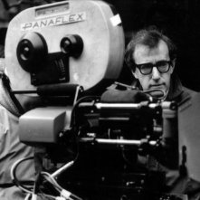 Woody: un'immagine di Woody Allen sul set tratta dal documentario su di lui diretto da Robert B. Weide