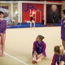 Make it or Break it: Amanda Leighton, Cassie Scerbo, Ayla Kell e Josie Loren nell'episodio Smells Like Winner