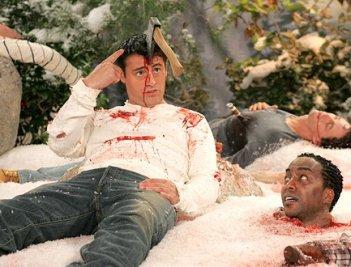 Matt LeBlanc in Joey con Miguel Nunez