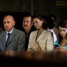 Tutti contro tutti: Rolando Ravello, Kasia Smutniak e Marco Giallini in una scena del film