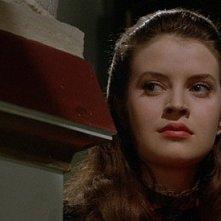 Isobel Black in una scena del film Il mistero del castello (1963)