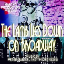 The Lamb Lies Down on Broadway: la locandina del film