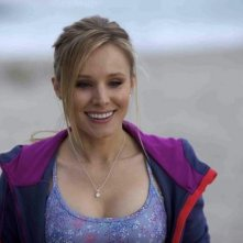 Un bel primo piano di Kristen Bell in Writers