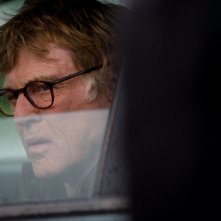 Un intenso primo piano di Robert Redford in The Company You Keep