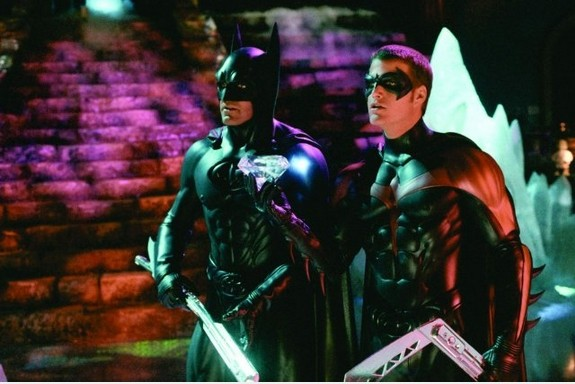Batman & Robin: George Clooney e Chris O'Donnell interpretano i due eroi del titolo