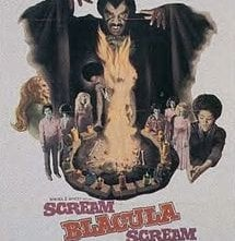 Scream Blacula Scream: la locandina del film