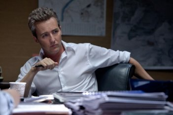 Edward Norton in una scena di The Bourne Legacy