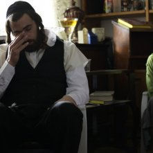 Fill the Void: Yiftach Klein e Hadas Yaron (a destra) in una scena tratta dal film