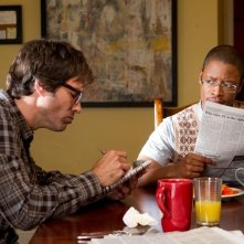 Perception: Eric McCormack e Arjay Smith nell'episodio Cipher
