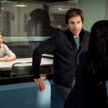 Perception: Eric McCormack in un momento dell'episodio The Messenger
