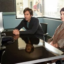 Perception: Eric McCormack in una scena dell'episodio The Messenger