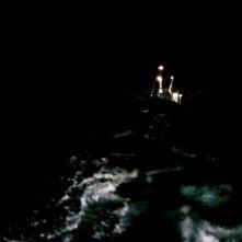 Leviathan: una scena del film che narra lo scontro collaborativo in mare tra uomo, natura e macchina