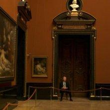Museum Hours: Bobby Sommer in una scena del film durante l'orario di lavoro come guardiano del museo