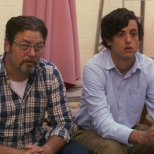 Somebody Up There Likes Me: Nick Offerman e Keith Poulson in una scena del film
