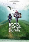 Igor & the Cranes' Journey: la locandina del film