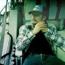 James Franco sul set di Spring Breakers