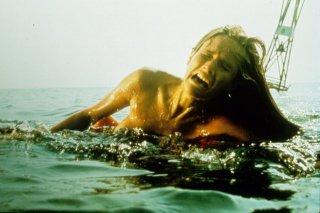 Lo squalo: una drammatica scena del film
