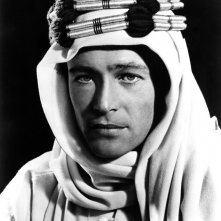 Peter O'Toole è Lawrence d'Arabia