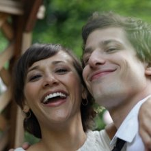 Celeste and Jesse Forever: Andy Samberg accanto a Rashida Jones in una immagine del film